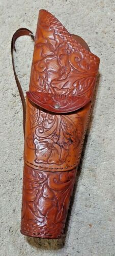 Vintage Leather Arrow Quiver Holster Free Shipping