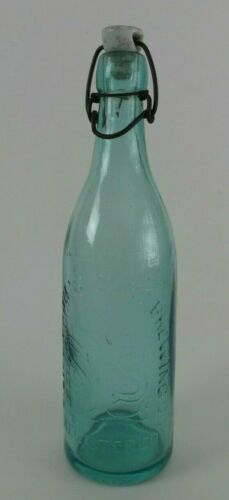 Antique Beer Bottle - S. LIEBMANN SONS BREWING CO. Brooklyn /w Porcelain Top