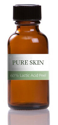 Lactic Acid Chemical Peel 60% - 50ml - ACNE TREATMENT / WRINKLES / DAMAGED SKIN