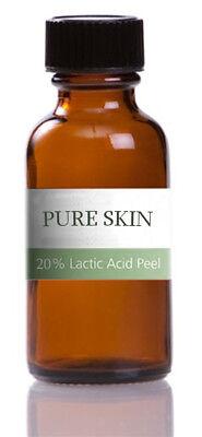 Lactic Acid Chemical Peel 20% - 50ml - ACNE TREATMENT / WRINKLES / DAMAGED SKIN