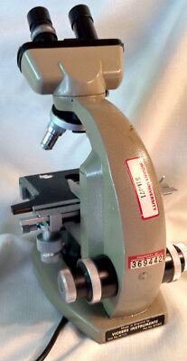 Vickers M 142 Binocular Microscope 4 Objective 100-10