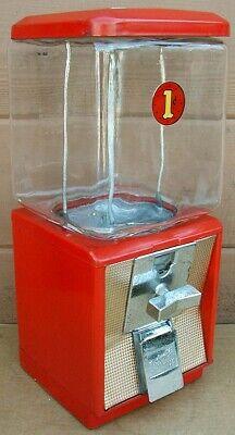 Vtg. 1950's-60's Northwestern PENNY 1 Cent GUMBALL MACHINE~Model 60?~WORKS~NICE