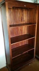 Wooden Bookcase Mount Gravatt Brisbane South East Preview