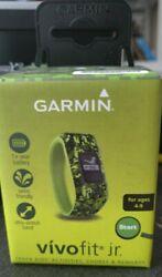 NEW Garmin Vivofit Jr. Activity Tracker for Kids, Regular Fit - Digi Camo Retail