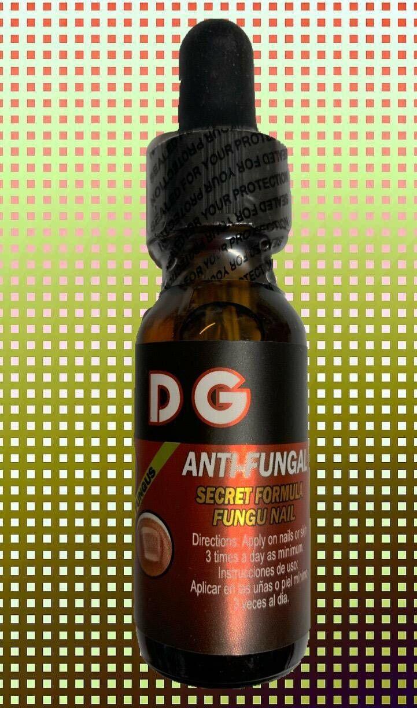 HONGO SAN DG Premium Anti-Fungal Anti-Infectious Liquid / Hongos de Uñas y Pies 2