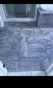 Professional tile setter with over 30 years experience