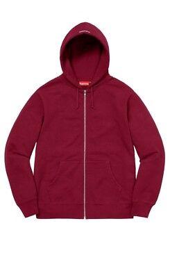 Supreme AKIRA Syringe Zip Up Sweatshirt Cardinal Size XL FW17