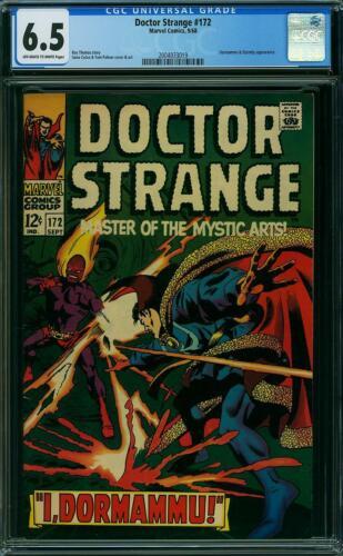 Doctor Strange 172 CGC 6.5 -- 1968 -- Dormammu, Eternity #2004933019