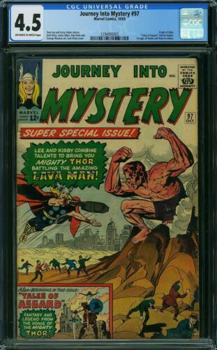 Journey into Mystery #97 CGC 4.5 -- 1963 -- 1st Surtur. Odin Origin #1294893005