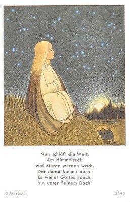 "Fleißbildchen Heiligenbild Gebetbild Andachtsbild  Holy card Ars sacra"" H773"""