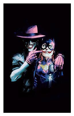 11x17 Batgirl #41 Variant Killing Joke Comic Book Cover Replica Poster DC Joker