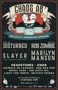 4 weekend general admission passes to chaos edmonton