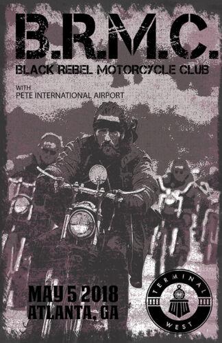 BRMC Concert Poster