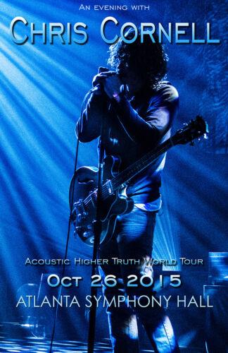 Chris Cornell Atlanta Event Poster