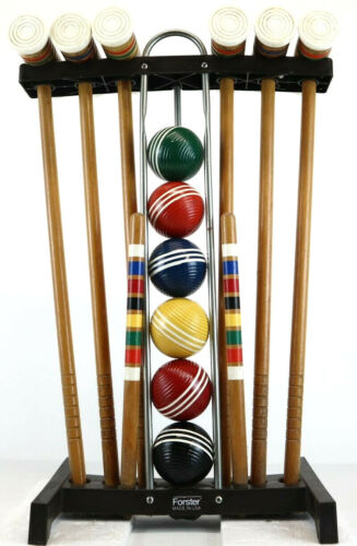Vintage Forster Croquet Set 6 players Made in the USA