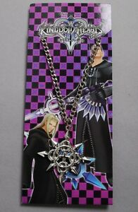 Kingdom Hearts II Axel METAL Silver Necklace Pendant Cosplay Prop