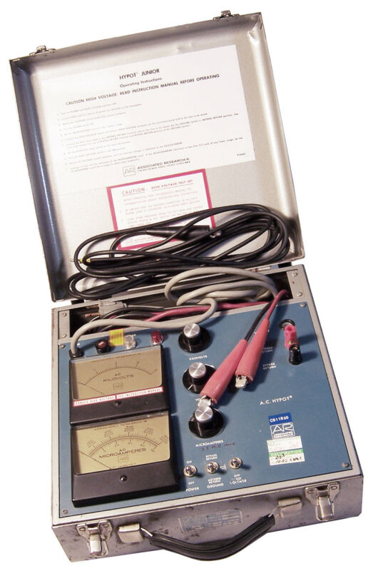 Associated Research Hypot JuniorTester USED 4030N2-AC CS11650 P16443 High Voltag