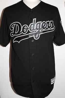 MLB Los Angeles Dodgers Cool Base Custom Black Baseball Jersey - Men's SIZE: 2XL Custom Mlb Baseball Jerseys