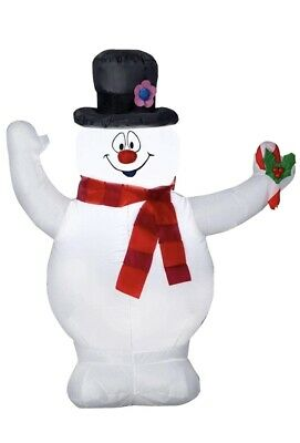gemmy inflatable christmas Frosty The Snowman 3.5ft