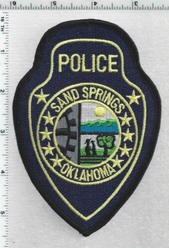 Sand Springs Police (Oklahoma) 3rd Issue Shoulder Patch