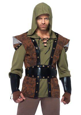 Costume Robin Hood (Leg Avenue Robin Hood Medieval Prince of Thieves Adult Halloween Costume)