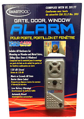 SmartPool YardGard Gate Door Window Alarm for Pool Protection YG03