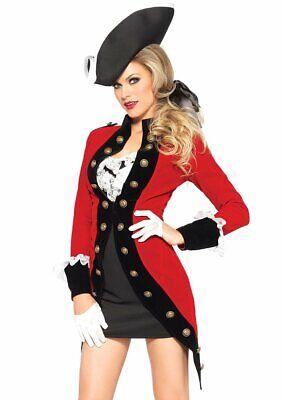 Leg Avenue Rebel Rot Mantel Bürgerkrieg Soldat Armee Erwachsene Halloween - Bürgerkrieg Soldat Kostüm