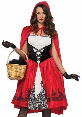 Leg Avenue Classic Little Red Riding Hood Adult Womens Halloween Costume 85614 Adult Classic Red Riding Hood