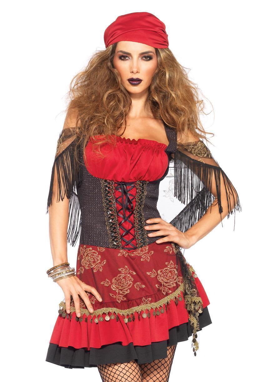 5d04ab9ca3 Leg Avenue 85381 Mystic Vixen Gypsy Costume Medium large for sale ...