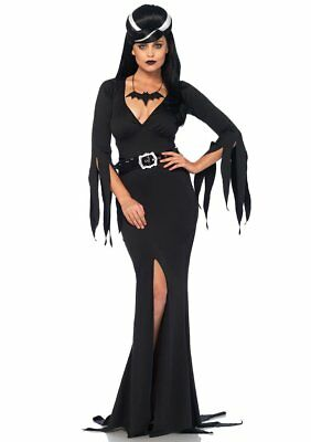 Immortal Mistress Wicked Witch Vampire Fancy Dress Halloween Sexy Adult Costume Adult Sexy Wicked Witch