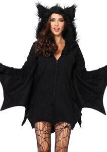 6b52d2389485b Leg Avenue Cozy Bat Adult Halloween Costume Size Small for sale ...
