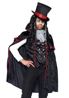 Leg Avenue Men's Classic Vampire Witch Doctor Phantom Costume Size M, L, XL - Leg Avenue Vampire Costume
