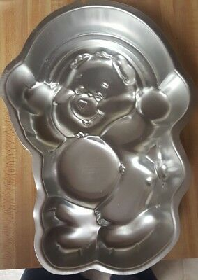Care Bear Baby Shower (WILTON Industries CARE BEAR Rainbow CAKE PAN Baking Birthday Baby Shower)