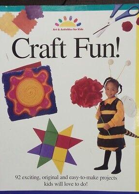 Craft Fun! (ART AND ACTIVITIES FOR KIDS) Paperback – September 15, 1997