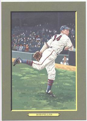3.00 SUPER SPECIAL UNSIGNED  PEREZ STEELE GREAT MOMENTS CARD #83 BOB FELLER