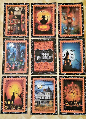 9 Halloween~Pocket Pen Pals~No Protector~Scrapbooking~Card Craft Making