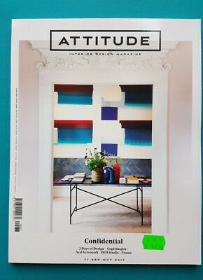 ATTITUDE INTERIOR DESIGN MAGAZINE 77 SEP-OCT 2017 ungelesen 1A absolut TOP