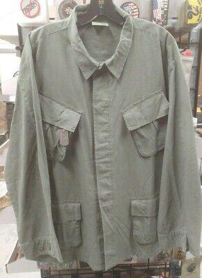 Vietnam Era Reproduction Slant Pocket BDU Shirt  Large Reg NEW