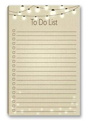 Rustic To-do List Magnetic Notepad - 5.5 X 8.5 - 50 Sheets Per Pack - B45004