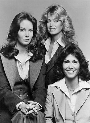 Charlie's Angels Cast Publicity PHOTO 1976 TV Show Farrah Fawcett Kate Smith Z