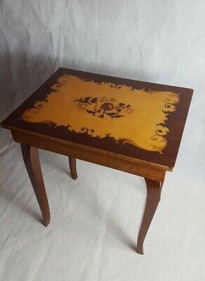 Vintage Sarentino Italian Small Musical Storage Table