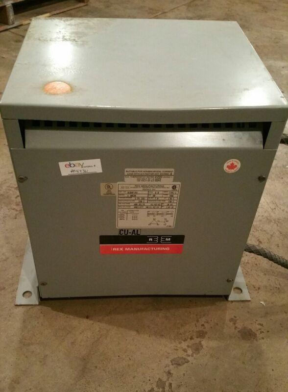 Rex Manufacturing Transformer  6 kVa DC6HP/K4 #1623W