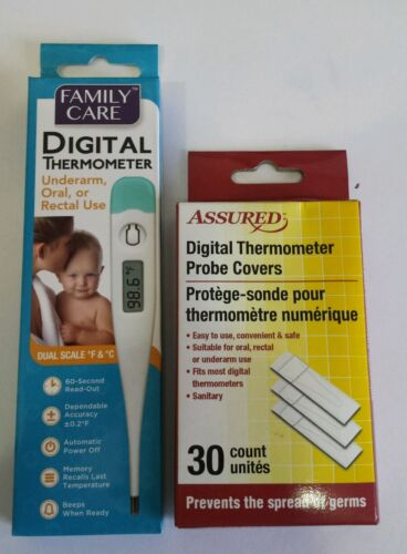 Digital Thermometer Probe Covers: Prevents the Spread of Ger