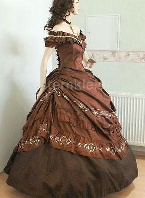 Westernkleid Sissi Biedermeierkleid Südstaatenkleid Civil War Kleid KT252