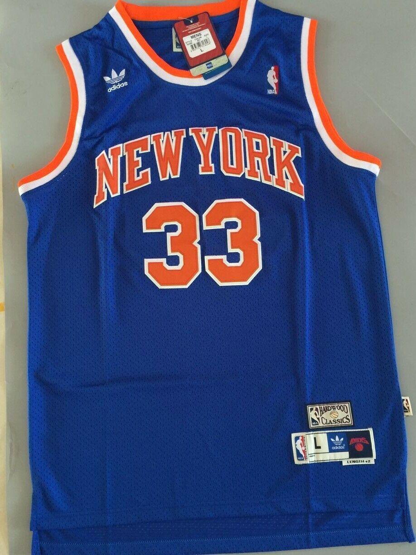 New Patrick Ewing #33 New York Knicks Swingman Throwback Jer