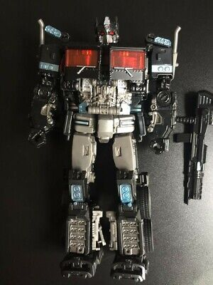 AOYI SS38 Optimus Prime Transformers Alloy Level V Action Figure Gift Toy Black