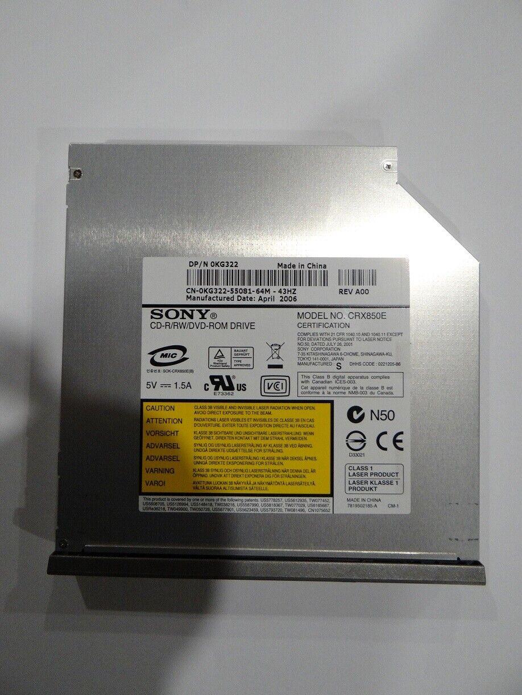 Graveur cd-r/rw lecteur dvd sony crx850e ide pour pc portable