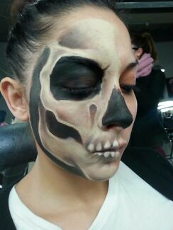 Halloween makeup appointments!