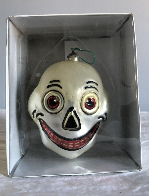 Halloween Skull Ornament Dept 56