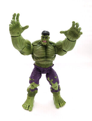 "2008 Hasbro Marvel Legends Classic Hulk 6"" Figure Fin Fang Foom BAF Series"